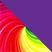 Разноцветный с фиолетовым