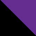 Черный с фиолетовым камнем