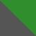Серый с зеленым камнем