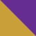 Золотой с фиолетовым камнем