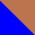 Синий с медным