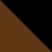 Коричневый с черным