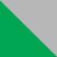 Зеленый с серебряным