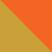 Золотой с оранжевым