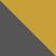 Серый с золотым камнем