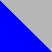 Синий с серебряным