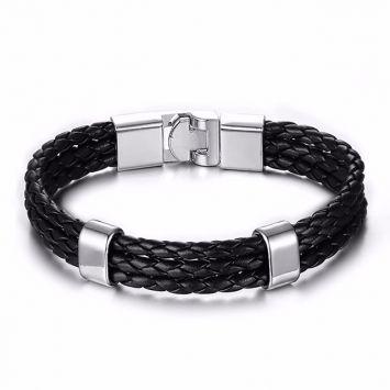 Черный с серебряным