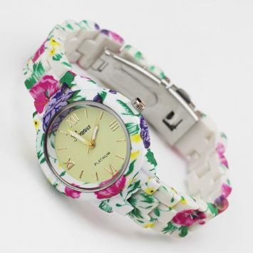 Часы - Geneva Flowers