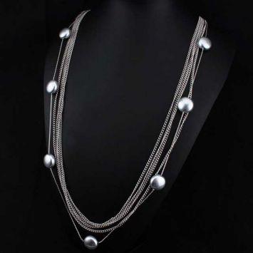 Длинное ожерелье - Круглое