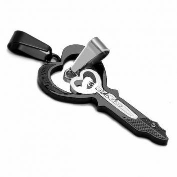 Двойной кулон для влюбленных - Ключи от сердца