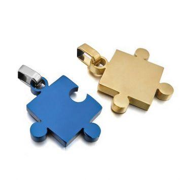 Золотой с синим