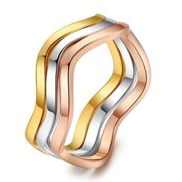 Кольцо-тринити - Тройная волна