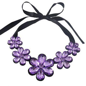 Черный с фиолетовым