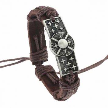 Кожаный браслет - Апачи