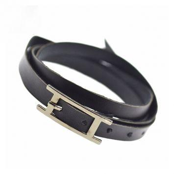 Кожаный браслет - С пряжкой