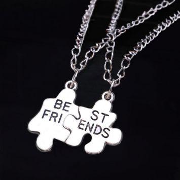 Кулоны парные - Пазл дружбы