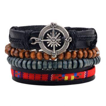 Многоуровневый браслет - Компас