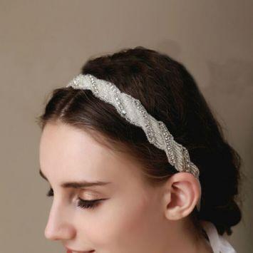 Свадебная повязка - Переплет