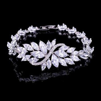 Свадебный браслет - Перья