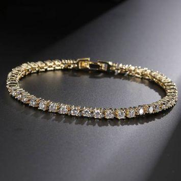 Свадебный браслет - С кристаллами