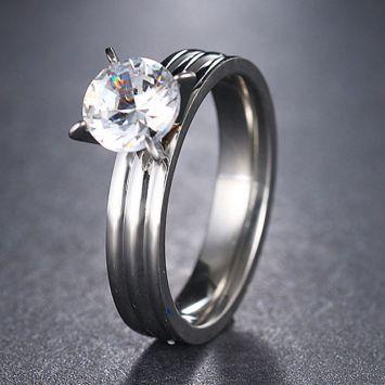 Женское кольцо - Конусный камень