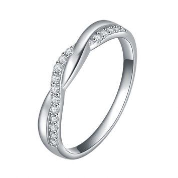 Женское кольцо - Кристальный переплет