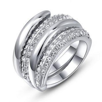 Женское кольцо - Раздвоенное