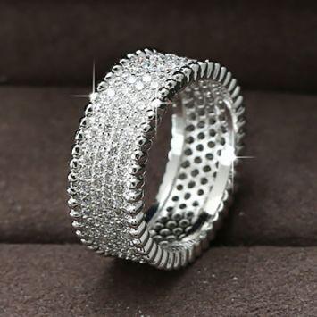 Женское кольцо - Сияющее