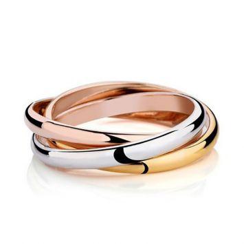 Женское кольцо - Тройной круг