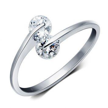 Женское кольцо - Утонченное