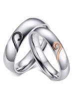 Кольца для пары - Двойной символ
