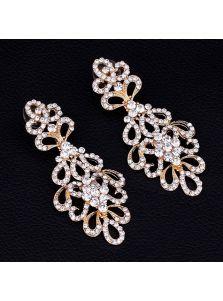 Серьги - Букет кристаллов