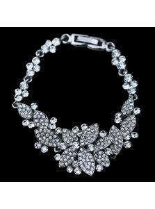 Свадебный браслет - Кристальный орнамент