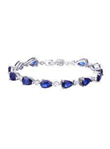 Браслет - Каплевидный кристалл