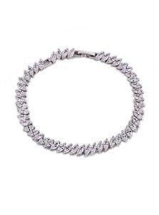 Браслет - Овальный кристалл