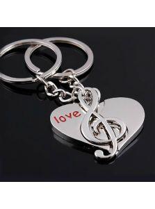 Брелоки для влюбленной пары - Мелодия сердца