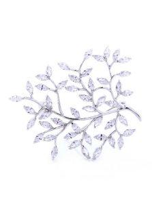 Брошь-булавка - Живописная ветвь