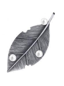 Брошь - Каменный лист