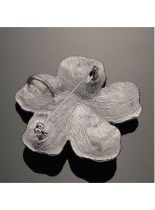 Брошь - Кованый цветок