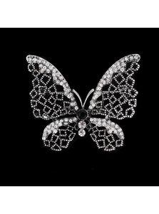 Брошь - Кристальная бабочка