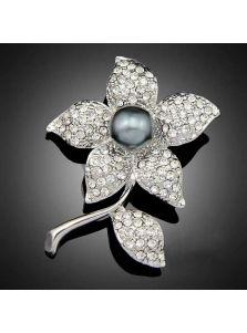 Брошь - Цветок папоротника