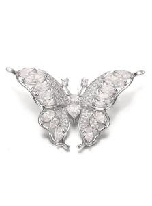 Брошка - Ослепительная бабочка