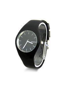Часы - Черный силикон
