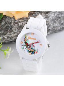 Часы - С ярким орнаментом