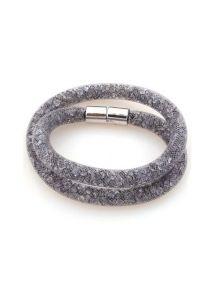 Двойной браслет - Звездная пыль (серая)