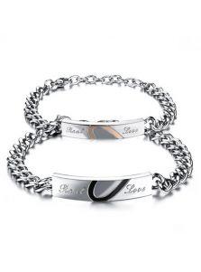 Двойные браслеты - Символ любви