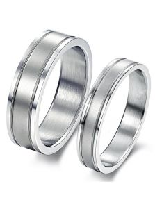 Двойные кольца - Гладкие