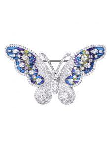Элитная брошь - Красочная бабочка