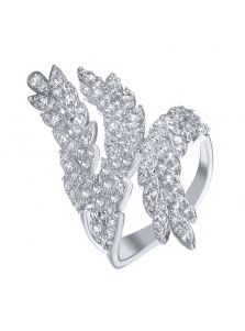 Элитное кольцо - Сверкающий лист