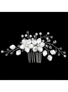 Гребень - Керамические цветы